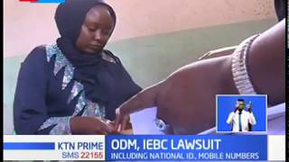 Court to give verdict whether IEBC should release updated register as ODM demands