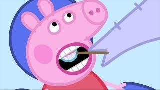 Peppa Pig Świnka Peppa po Polsku | Dentysta | Kompilacja klipów | Bajki Po Polsku