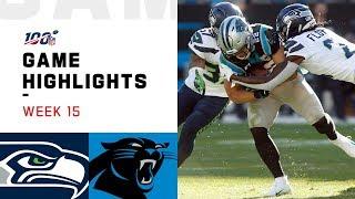 Seahawks vs. Panthers Week 15 Highlights   NFL 2019