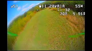 Vol accro Caillac Novice 3 Eachine FpV