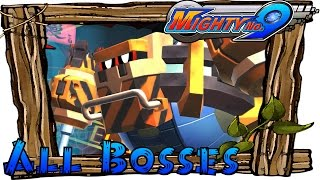 Mighty No. 9 - All Bosses (Boss Rush)