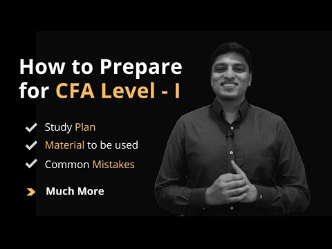 How to study for CFA level 1 - Complete Preparation Strategy ...