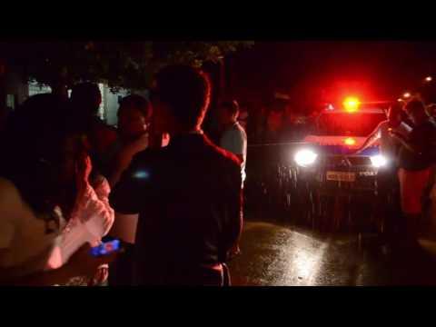 NATAL VIOLENTO: MECÂNICO É EXECUTADO EM FRENTE A PRÓPRIA RESIDÊNCIA - VÍDEO