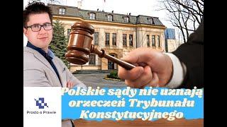 POP Kolejny polski sąd nie uznaje orzeczenia Trybunału Konstytucyjnego wydanego przez dublera.