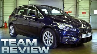 BMW 2 Active Tourer 218d Luxury (Team Review) - Fifth Gear
