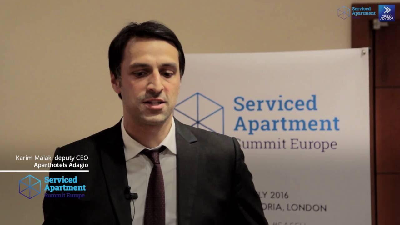 SAS Europe 2016 interviews: Karim Malak, Aparthotels Adagio