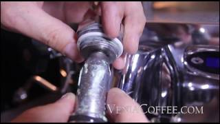 Переборка группы кофемашины IZZO ALEX DUETTO III, ремонт, техническое обслуживание