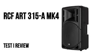 RCF ART 315-A MK4 aktivni zvučnik - Test i review
