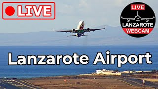 Live HD video stream from Lanzarote Airport (ACE|GCRR), Canary Islands, Spain
