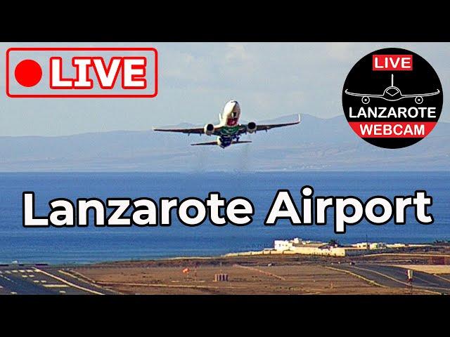 Live Webcam in Lanzarote Airport