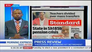 State in Sh185b pension crisis
