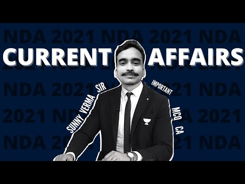 15 DAYS CURRENT AFFAIRS FOR NDA/CDS/AFCAT -  SUNNY SIR