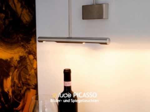 s´luce PICASSO Spiegel- und Bilderleuchten, Licht-Design Skapetze, www.skapetze.com
