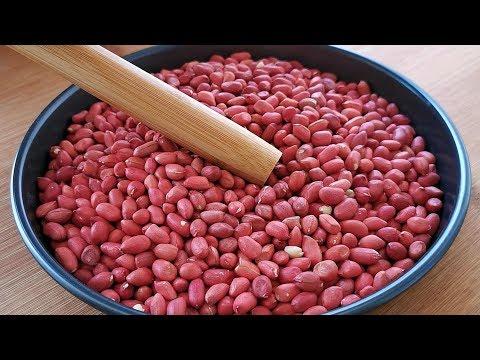 【小穎美食】花生米不要油炸了,教你新吃法,又酥又脆,出鍋孩子搶著吃,解饞!
