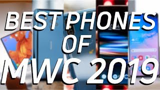The Best Phones of MWC 2019!