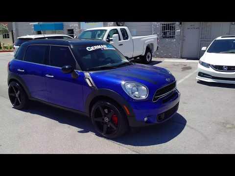 877-544-8473 19 inch Mini Cooper Countryman KMC District KM685 Concave Rim Black Wheels