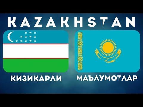 ҚОЗОҒИСТОН ー КИЗИКАРЛИ МАЪЛУМОТЛАР / КАЗАХСТАН / KAZAKHSTAN