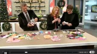 DIY Christmas Wrap And Dr.Suess-like Tree On S+C Show