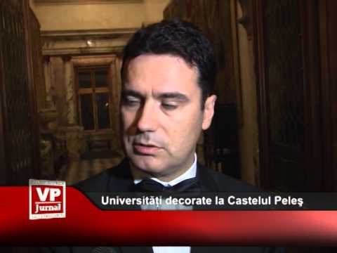 Universități decorate la Castelul Peleş