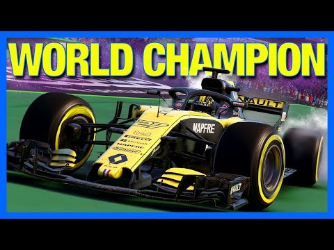 F1 2018 Career Mode : WORLD CHAMPION!! (Part 20)