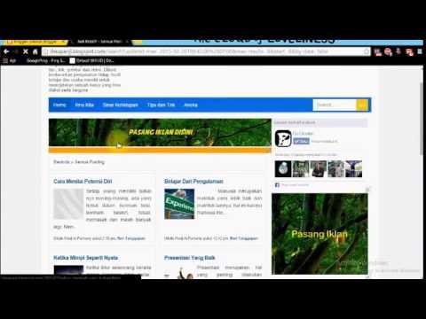 Video Cara Mendaftarkan Blog ke Adsense