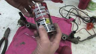 DIY Fuel Injector Cleaning