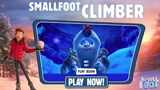 SMALLFOOT - Climber Game - September 28 - Video Youtube