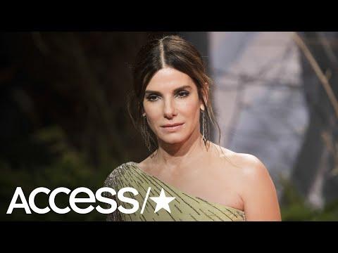 Sandra Bullock Turns Heads In A Dazzling Dress At The 'Bird Box' European Premiere | Access