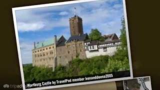 preview picture of video 'Wartburg Castle - Eisenach, Thuringia, Germany'