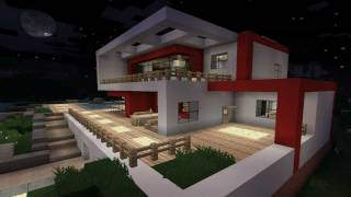 Minecraft Modern House Modernes Haus HD Most Popular Videos - Minecraft moderne hauser mod