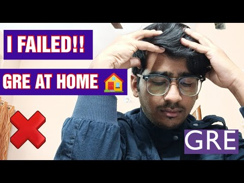 GRE Online Test Experience ❌    My Real Experience    GRE At Home 🏠
