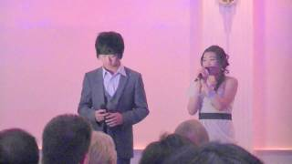 Jazer and Shana sings a whole new world