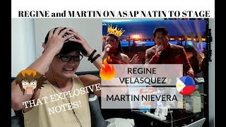[REACTION] THOSE EXPLOSIVE NOTES! REGINE And MARTIN ASAP Natin To Performance