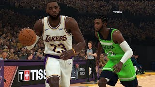 NBA Today 12/8 Los Angeles Lakers vs Minnesota Timberwolves Full Game | NBA Highlights (NBA 2K)