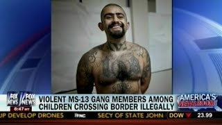Illegal Aliens - Violent MS-13 Gang Members Among Among Children Crossing Border Illegally