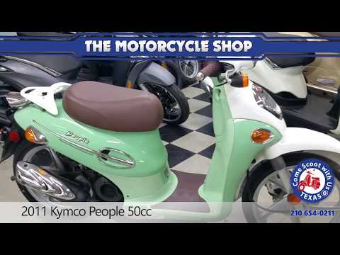 2011 kymco people 50cc used scooter