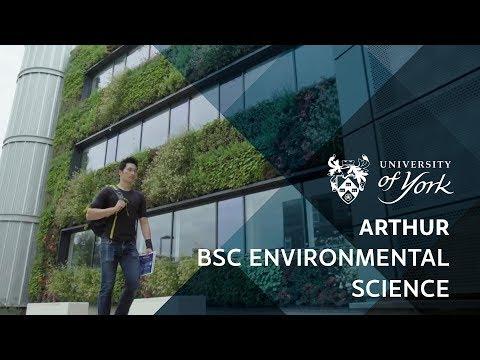 Arthur - BSc Environmental Science - YouTube
