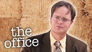 Dwight Always Wanted to be Hay King - The Office US