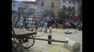 preview picture of video 'Batalla d'Avinyó, fira dels Matiners 2012'