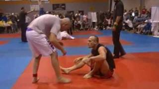 David Dennis Straight Ankle Lock  Leg Break