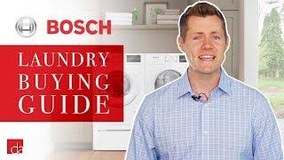Bosch Washer Dryer - 300 vs 500 vs 800 Series Explained