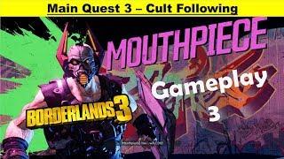 Borderlands 3 Main Quest - Cult Following - Gameplay Walkthrough Part 3