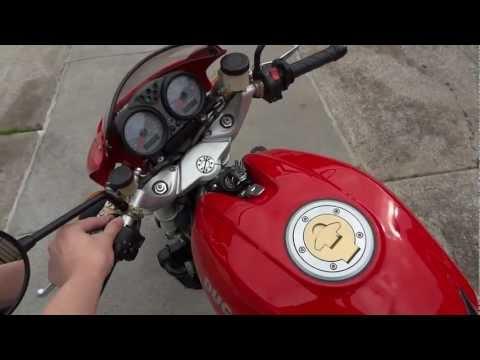 2002 Ducati Monster S4 Start-up