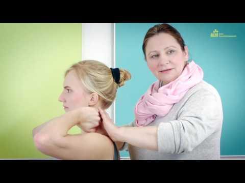 Fixierung des Schultergelenkes mit Gips