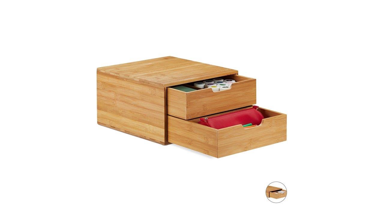 Video von: Schubladenbox Bambus