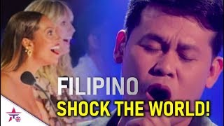 FILIPINO AUDITIONS...THAT SHOCKED THE WORLD ON GOT TALENT!😲