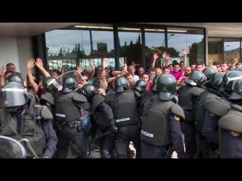 Referèndum d'Autodeterminació de Catalunya de l'1 d'octubre a Roquetes.