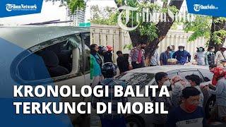 Kronologi Balita di Solo Terkunci di Dalam Mobil, Ortu Panik & Keluar Mobil seusai Alami Kecelakaan