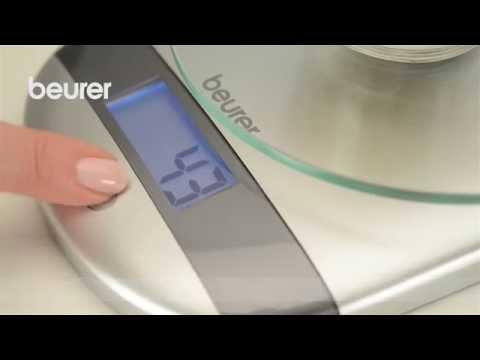 Vídeo de instrucciones de la báscula de cocina KS 31