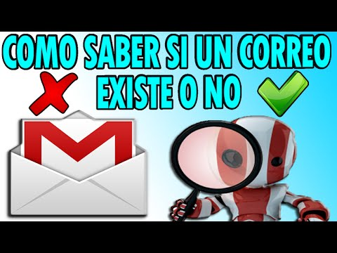 ¿Como Verificar Si Un Correo Electronico Email Existe o No?